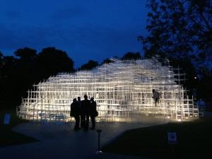 Serpentine Pavilion 2013 (night)